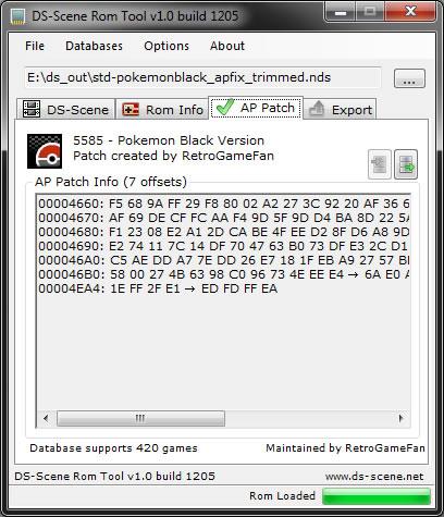 DS-Scene - View Topic: DS-Scene Rom Tool v1 0 build 1205 re-dist